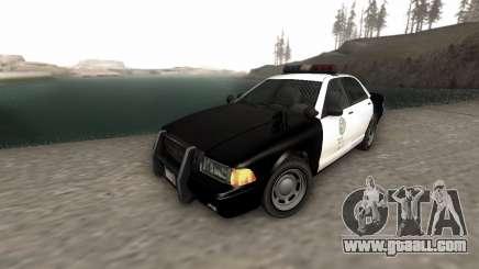 GTA 5 Stanier Police for GTA San Andreas