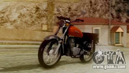 Honda CG 125 Classic for GTA San Andreas