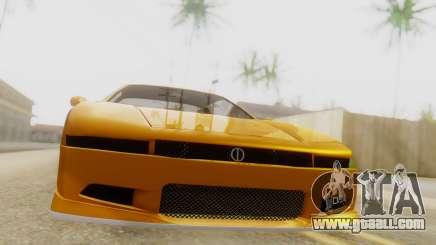 Infernus BMW Revolution with Spoiler for GTA San Andreas