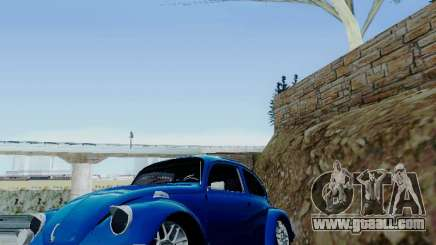 Volkswagen Beetle 1980 Stanced v1 for GTA San Andreas