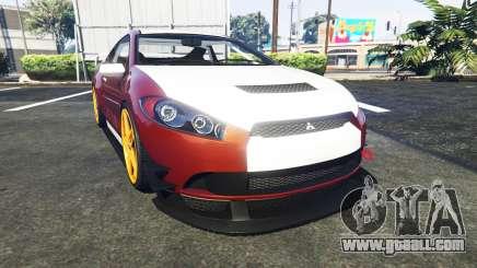 Maibatsu Penumbra Mitsubishi Eclipse for GTA 5
