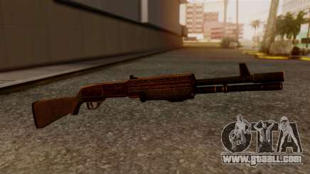 BlueSteel Shotgun for GTA San Andreas
