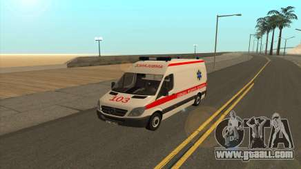 Mercedes-Benz Sprinter Ambulance Ukraine for GTA San Andreas
