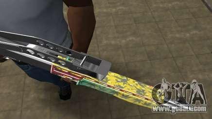 Ganja SPAS-12 for GTA San Andreas
