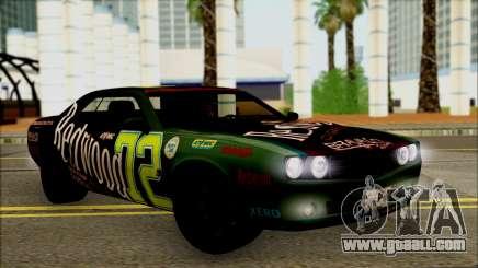GTA 5 Bravado Gauntlet Redwood HQLM for GTA San Andreas