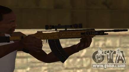 Marksman Rifle for GTA San Andreas