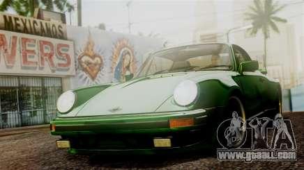 Porsche 911 Turbo (930) 1985 Kit A PJ for GTA San Andreas