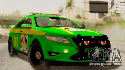 Ford Taurus Iraq Police for GTA San Andreas