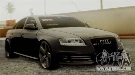 Audi RS6 Civil Drag Version for GTA San Andreas