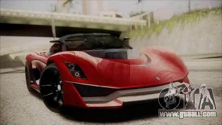 GTA 5 Grotti Turismo R IVF for GTA San Andreas