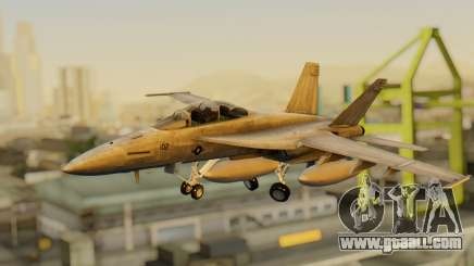 FA-18F Super Hornet BF4 for GTA San Andreas