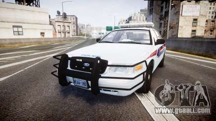 Ford Crown Victoria Bohan Police [ELS] for GTA 4