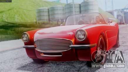 GTA 5 Invetero Coquette BlackFin IVF for GTA San Andreas