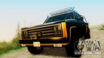 FBI Rancher Offroad for GTA San Andreas