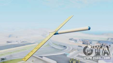 Fantastic plane for GTA San Andreas left view