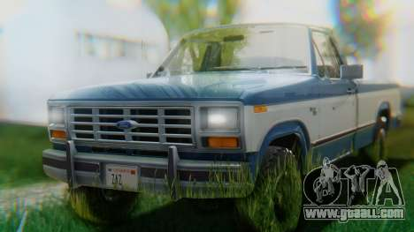 Ford F-150 1984 Final for GTA San Andreas