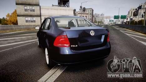 Volkswagen Polo for GTA 4 back left view