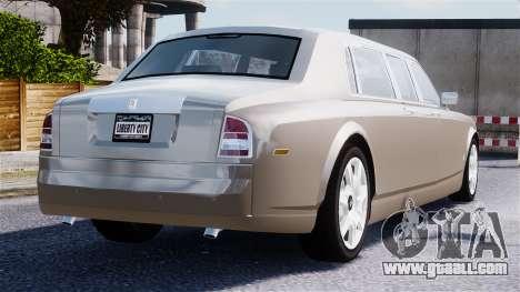 Rolls-Royce Phantom LWB for GTA 4 bottom view