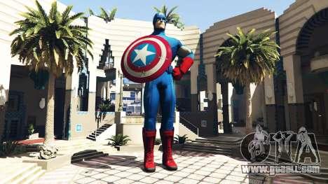 GTA 5 Statue Captain America