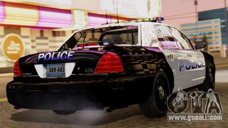 Police LS 2013 for GTA San Andreas left view