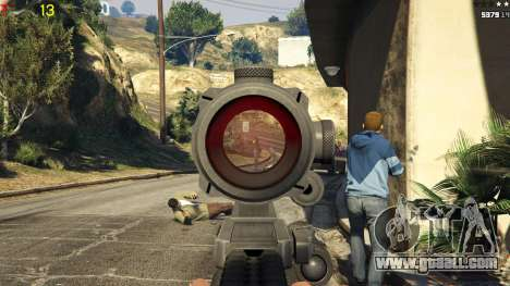 GTA 5 Gang wars 0.2 fifth screenshot