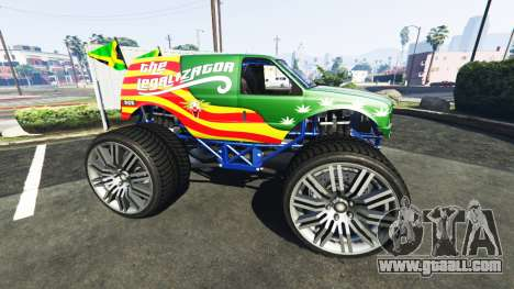 GTA 5 Vapid The Liberator The Legalizator left side view