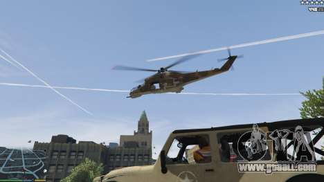 GTA 5 The army instead of the police on 5-stars v1.3.4 fifth screenshot