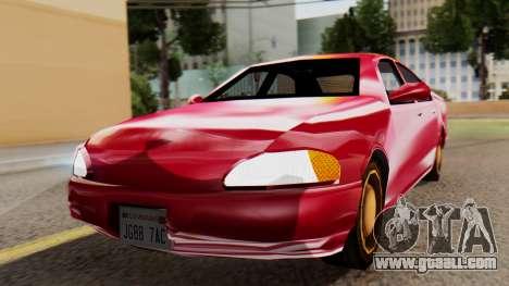 GTA 3 Kuruma SA Style for GTA San Andreas