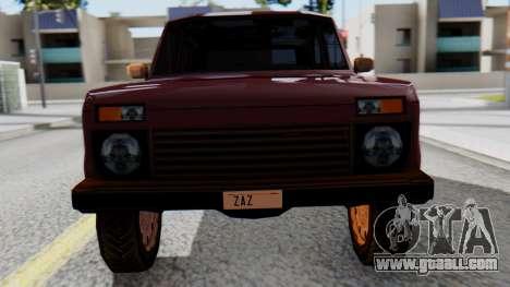 VAZ 2121 Niva SA Style for GTA San Andreas right view