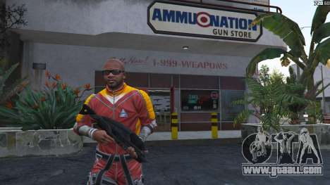 GTA 5 M-8 Avenger из Mass Effect 2