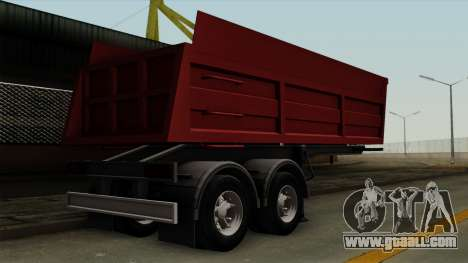 Trailer Dumper for GTA San Andreas left view
