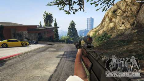 GTA 5 Battlefield 4 AK-12 fifth screenshot