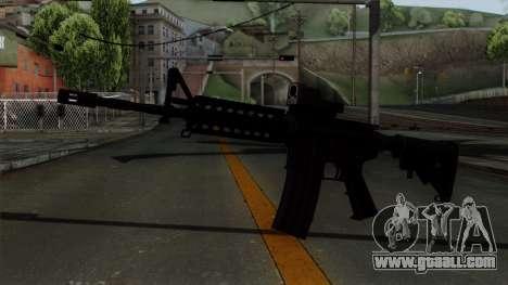 AR-15 Elcan for GTA San Andreas