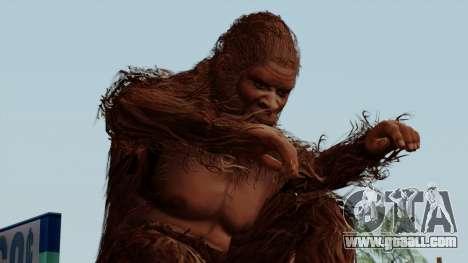 GTA 5 Bigfoot for GTA San Andreas