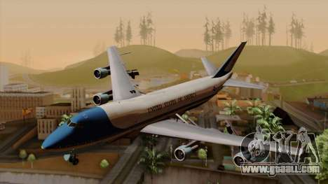 Boeing 747 Air Force One for GTA San Andreas