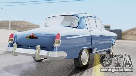 GAZ 21 Volga v1 for GTA San Andreas left view