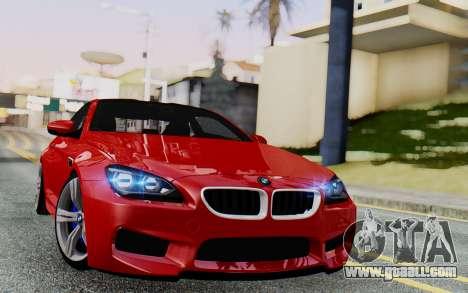 BMW M6 2013 v1.0 for GTA San Andreas