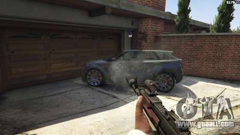 GTA 5 Battlefield 4 AK-12 eighth screenshot