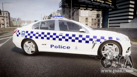 Holden VF Commodore SS NSW Police [ELS] for GTA 4 left view