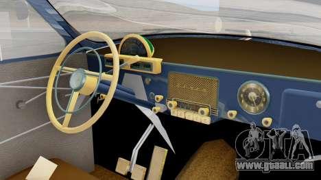 GAZ 21 Volga v1 for GTA San Andreas right view