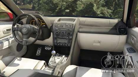 GTA 5 Lexus IS300 right side view