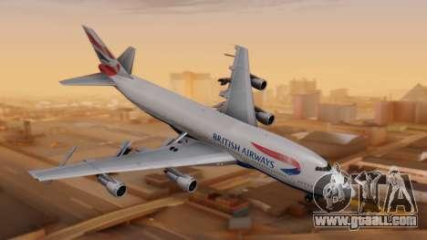 Boeing 747-200 British Airways for GTA San Andreas