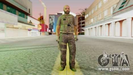 [GTA5] BlackOps2 Army Skin for GTA San Andreas second screenshot
