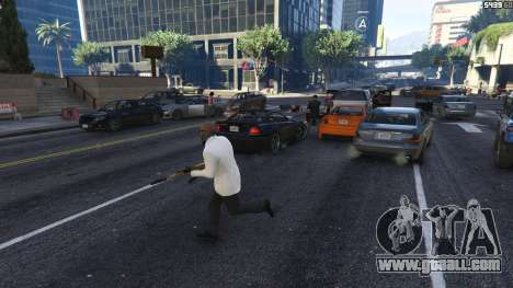 Strapped Peds for GTA 5