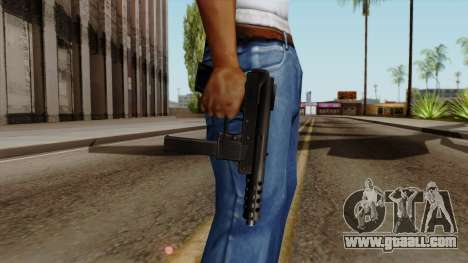 Original HD Tec9 for GTA San Andreas third screenshot