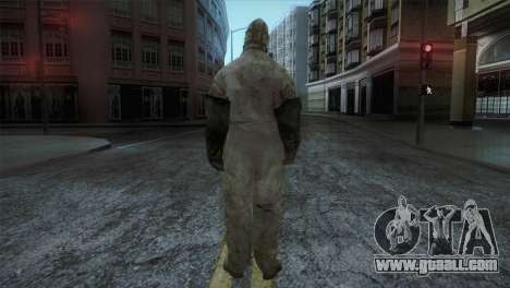 Order Soldier from Silent Hill for GTA San Andreas third screenshot