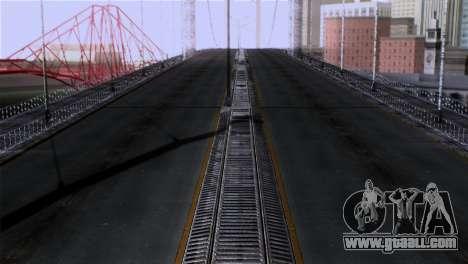 Roads Full Version LS-LV-SF for GTA San Andreas third screenshot