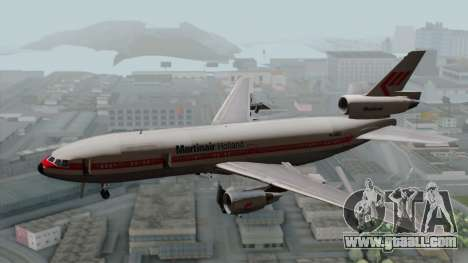 DC-10-30 Martinair for GTA San Andreas