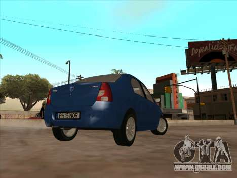 Dacia Logan Prestige for GTA San Andreas right view
