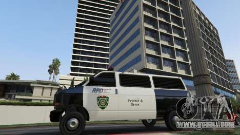 GTA 5 Raccoon City Vehicles fifth screenshot